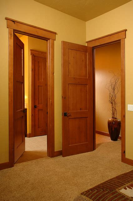 Interior Doors Denver Craftsman In Honey Craftsman Entry Denver By Sun Mountain Inc