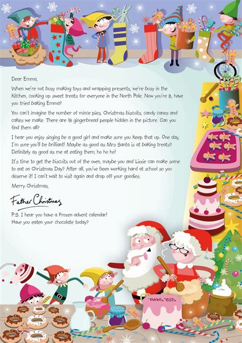 charity santa letter the 33 best images about nspcc letter from santa on