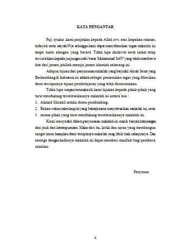 urutan membuat abstrak contoh daftar isi makalah newhairstylesformen2014 com