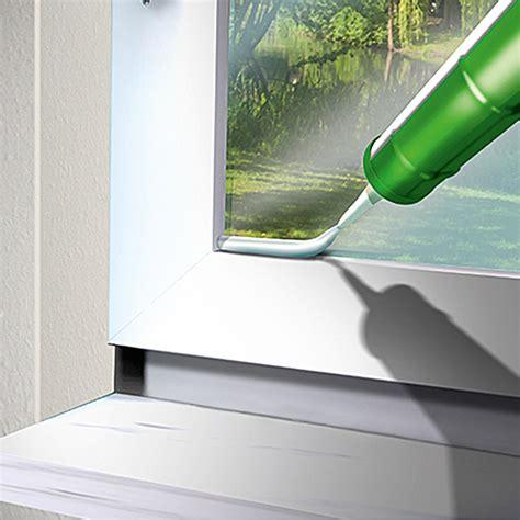 Fenster Abdichten Mit Silikon 3229 by Mem Fenster Silikon Braun 300 Ml Bauhaus