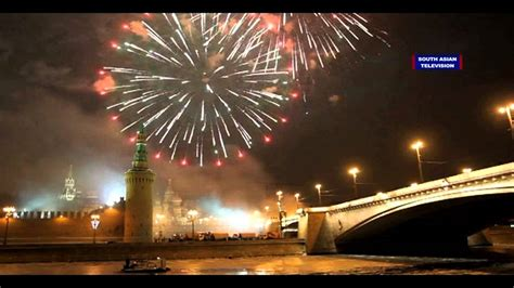 new year in russia moscow welcomes 2016 with fireworks happy new year 2016