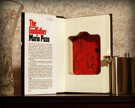 godfather secret safe flask book gadget flow