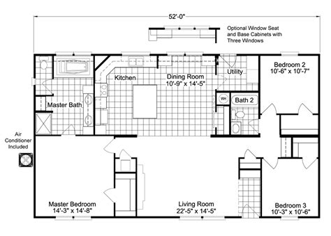 new mobile home floor plans featured manufactured home the arlington by palm harbor