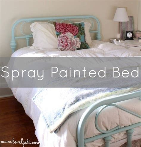 how to paint a bed a sweet blue bed lovely etc