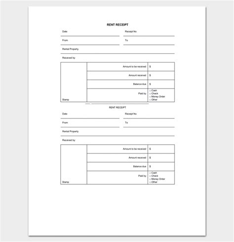 sle invoice ontario landlord rent receipt template 28 images landlord rent