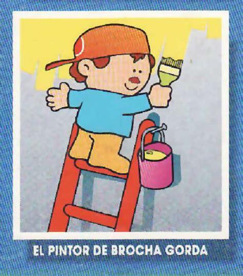 dibujos de servidores pblicos para colorear pintor de brocha gorda material para la escuela
