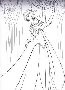 coloring pages of elsa free printable coloring pages elsa 2015