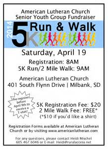 5k flyer template alc senior youth fundraiser 5k run 2 mile walk