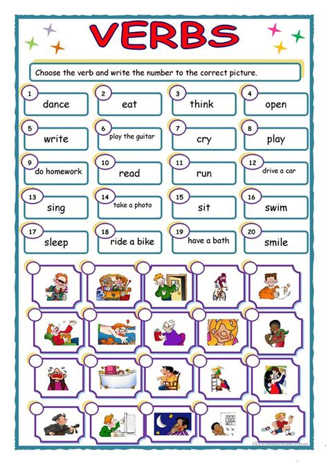 verbs worksheet free esl printable worksheets made by teachers