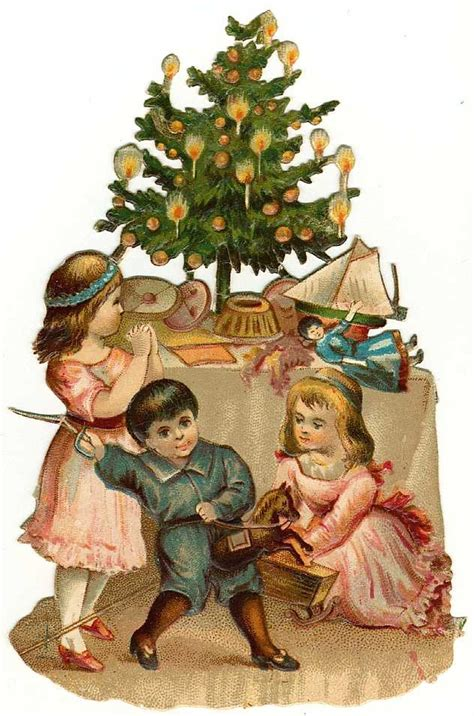 vintage christmas tree clip art 101 clip art