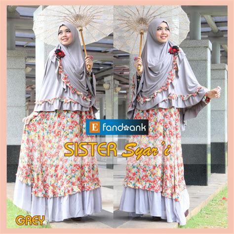 Gamis Avaro Syari Lavender Jersey Kombi Cerutty Big Size Jumbo T Widedress Fashion Butiq
