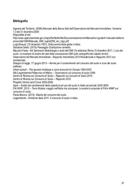 Banche Dati Omi by Osservatorio Mercato Immobiliare Quaderni Dicembre 2013