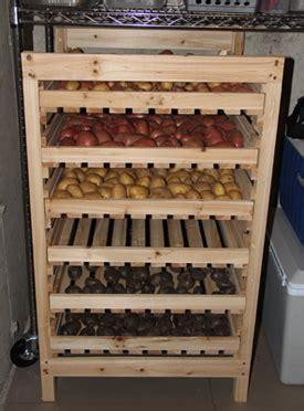 Potato Rack by Potato Storage Rack Everchanging Garden