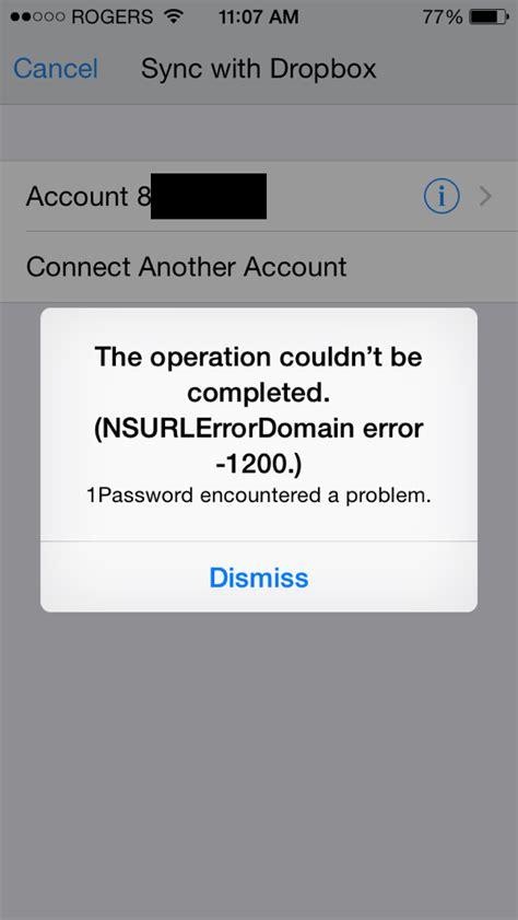 dropbox the installer encountered error 2 dropbox sync error loading app info nsurlerrordomain