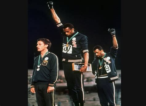 black salute member of 1968 olympic s black power salute if you re
