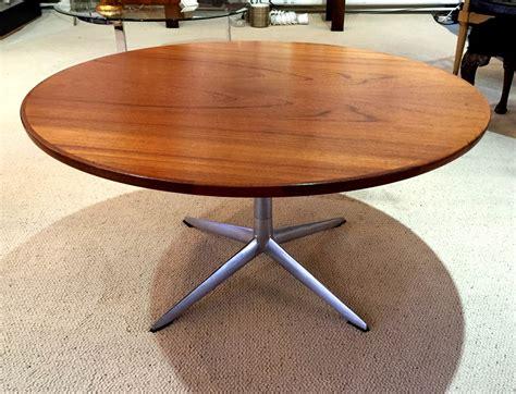 Round Table Geary H W Klein For Bramin Round Teak Coffee Table Denmark