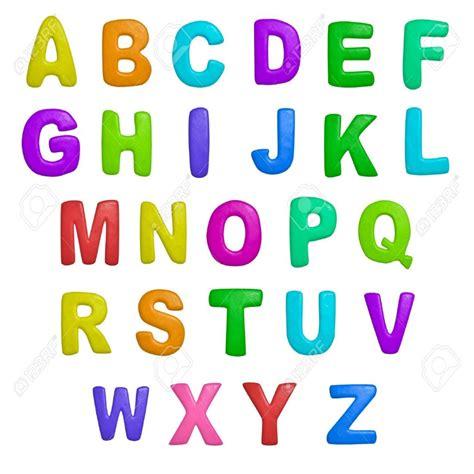 a color nuevo dibujos de letras a color