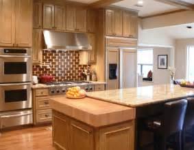 maple butcher block countertop kitchen backsplash