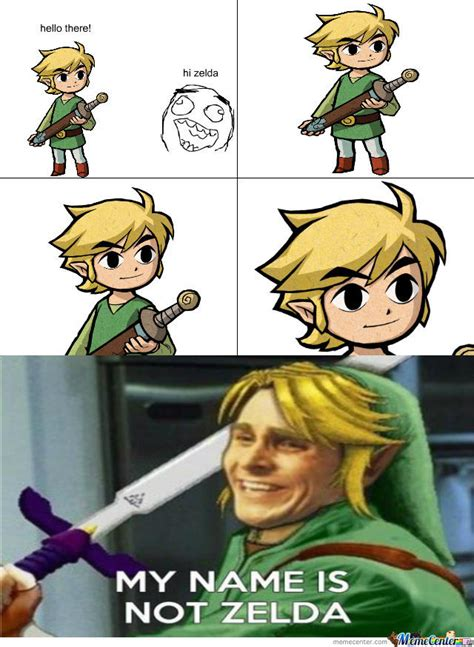 Link Meme - its link ffs by alucard04 meme center