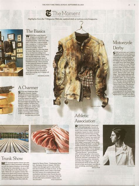 style section new york times chasing beauty in new york times sunday style section