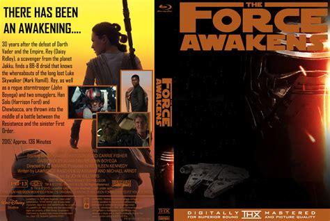 Wars The Awakens Dvd Original wars awakens custom dvd cover thx 1995 by sootifoot on deviantart