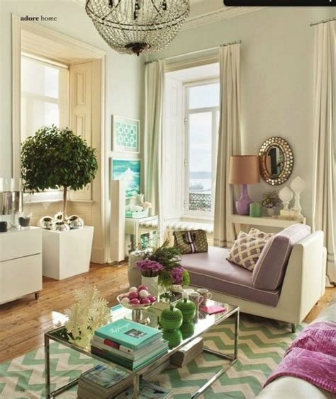 Vibrant Living Room Colors I Adore This Living Room The Pastel Purple And Vibrant