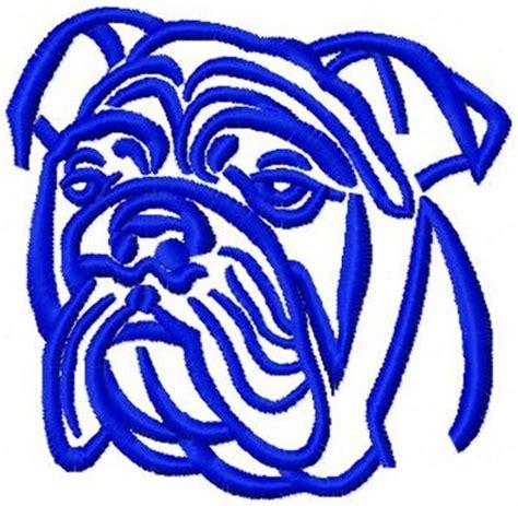 bulldog outline image clipart best