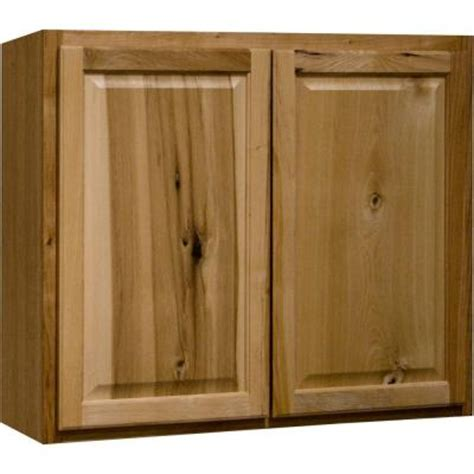 kitchen cabinet installation cost home depot hton bay 36x30x12 in wall kitchen cabinet in natural