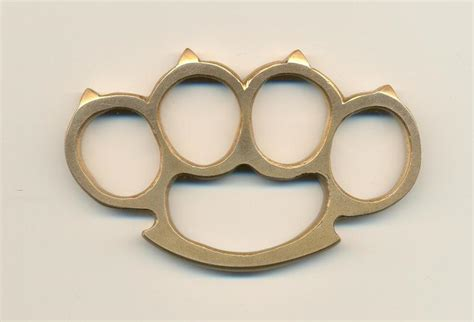 Weaponcollector S Knuckle Duster And Weapon Blog Homemade Brass Knuckle Designs