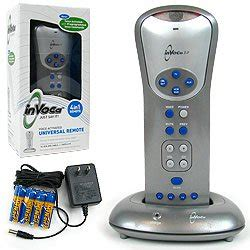 invoca 3 voice activated remote tell your tv