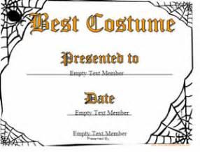 costume certificate template haloween certificates 183 certificate creator create and