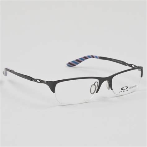 oakley chainring womens eyeglasses polished black frame ebay