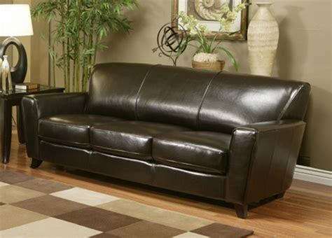 bicast leather sofa logan dark brown bicast leather sofa by parker house log