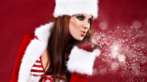 Wallpaper Christmas Babe | christmas babe wallpaper 274308