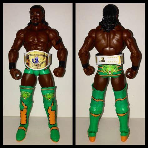 Mattel Kofi Kingston mattel kofi kingston custom ic belt figure lot on popscreen