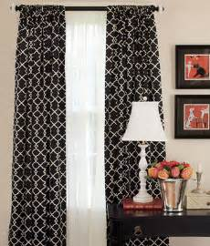 Black And White Curtains Peak Of Interior Designing Black And White Curtains Bestartisticinteriors
