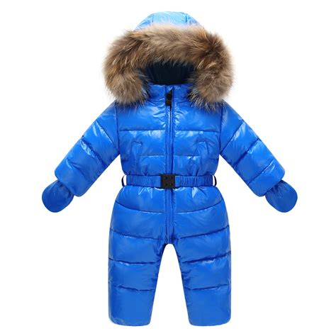 winter clothes for children nature fur hooded