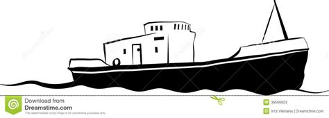 old boat vector small fishing boat stock vector image 39566623