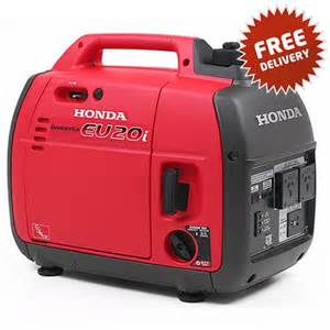 Where To Buy Honda Generators Honda Eu20i 2 0kva Inverter Generator Free Delivery