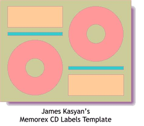 memorex cd label template image memorex cd label template
