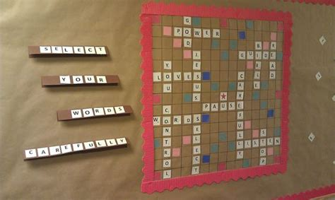 bible scrabble church bulletin board idea scrabble
