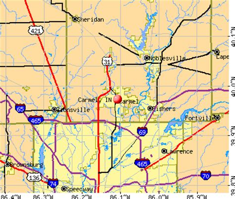 Produk Indiana Top Bordir map of indiana my
