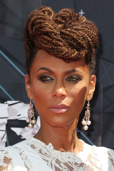 nicole ari parker cornrow hairstyle 2015 bet awards celebrity hairstyles hairstyles 2017