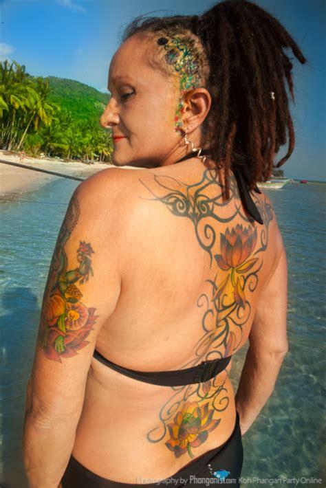 japanese tattoo koh samui elle the original phangan party girl koh phangan online