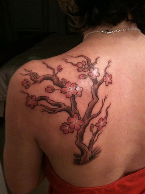 40 cute cherry blossom tattoo design ideas hative