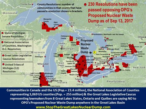 worlds nuclear waste dump breaking national news and australian great lakes nuclear waste dump ontario power generation