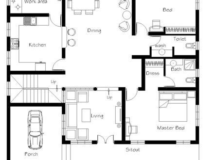 3 bedroom kerala house plans modern open floor plans open floor plan house designs