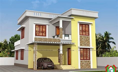 two floor house plans in kerala two floor kerala style house plan with 3 bedrooms kerala