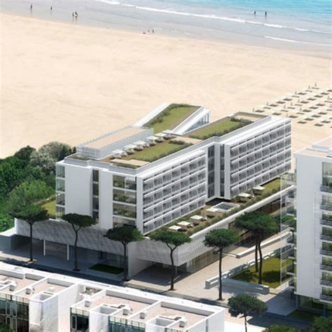 jlv   star hotel spa  richard meier jesolo