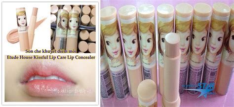 Etude House Kissable Lip Smooth Care 5 che khuy蘯ソt 苣i盻ノ m 244 i etude house kissful lip care lip concealer myphamstar